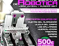Diseño de Cartel - Concurto de Robótica