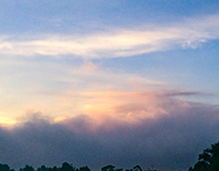Amanecer desde mi casa, (sunrise from my house)