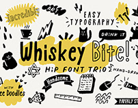 Whiskey Bite - Free Hip Font