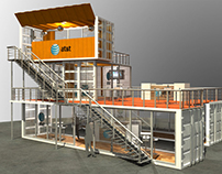 AT&T Shipping Container