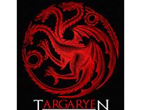 Targaryen Logo Illustrated by Steven Noble
