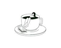 Tea Lovers illustration