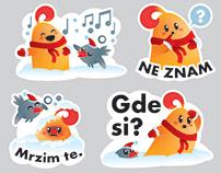 Vipsi Viber Stickers - Winter Edition