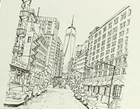 Urban sketching!