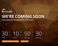 Comite Responsive Timer Coming Soon Bootstrap Template