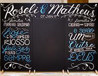 Roseli & Matheus (5) | Photobooth • Painel + Giz