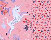 Sweet Unicorn Pattern Collection