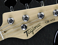 Advertising for Tagima Guitars and Nagano Drums