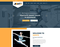 Jointz_Website Layout Design