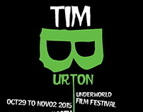 Tim burton movie motion and poster