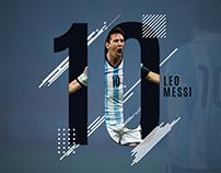 Leo Messi - Sports Poster