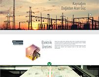 Yeşilyurt Enerji - Onepage website tasarımı