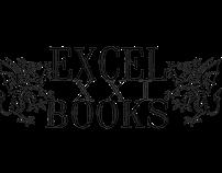 EXCEL XXI publishing house brand identity and logos