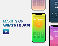 Making of WEATHER JAM (Project Creative Technology)