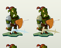 2d character Orc
