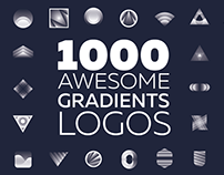 1000 gradients logo