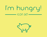 I'm hungry! - Icon set