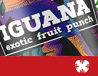 iguana, exotic fruit punch