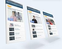 Корпоративный сайт для проекта по инфобизнесу