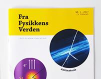 Redesign of physics magazine