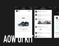 AOW UI Kit. Preview