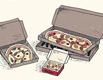 Pizza Illustrations