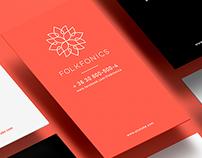 Folkfonics logo design