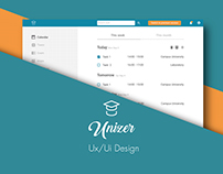 UNIZER UX/UI DESIGN // Management university app