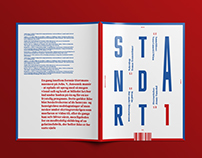 Standart - Litterature Magazine / Redesign