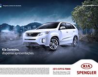 Anúncio Sorento - Kia Spengler