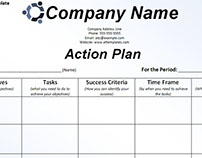 Strategic Action Planning and Investigation Template