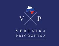 логотип для всадницы