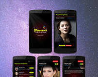 Stars & Celebrities Search - Mobile App Design