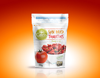 GALEN SUN DRIED TOMATOES PACKAGE DESIGN