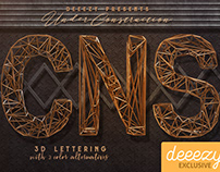 Under Construction Free 3D Lettering