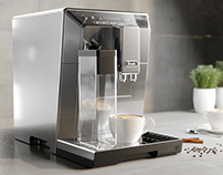 Free Coffee machine 3d model