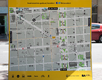 Ecobici Maps Buenos Aires