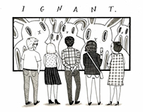 Ignant Interview Illustrations
