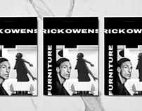 Rick Owens: Furniture | Editorial Design
