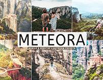 Free Meteora Mobile & Desktop Lightroom Presets