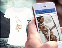 Publications Facebook pour marque de vêtements