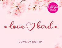 FREE | Lovebird Lovely Script Font