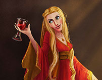 Game of Thrones CD Challenge Cersei Lannister