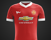 2016 Manchester United Kit Concepts