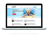 LÖSEV Website Redesign