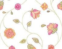 Faux Embroidery, Textile Design
