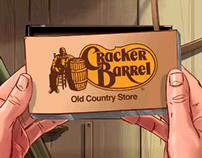 Cracker Barrel - Flip Book Animatic