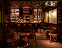 Whiskey + Tea Bar at The Prince Akatoki