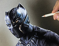 Drawing Black Panther