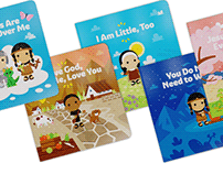 TinySaints Illustrated Book Collection
